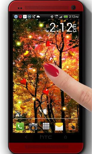 Autumn Park HD live wallpaper