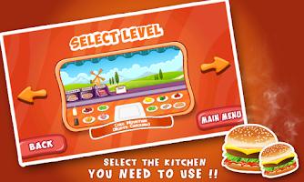 Screenshot of Burger Sandwich Dash -Fastfood