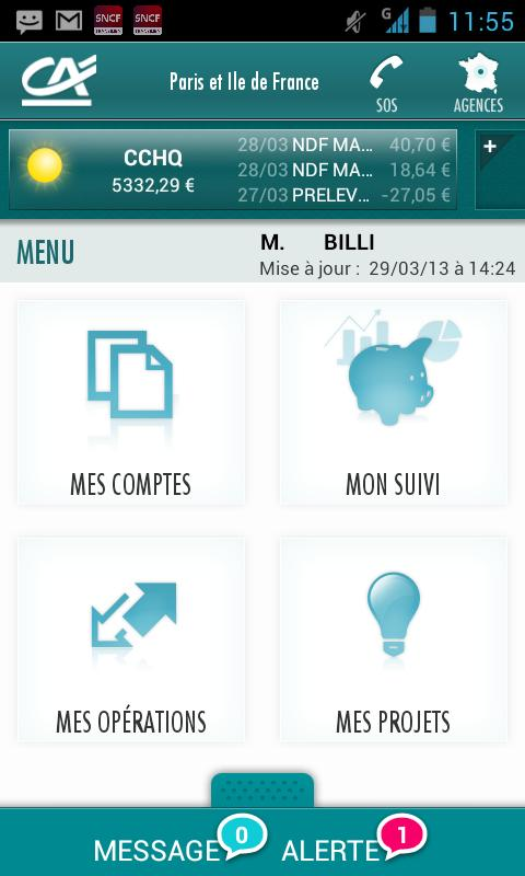 Mon Budget - screenshot