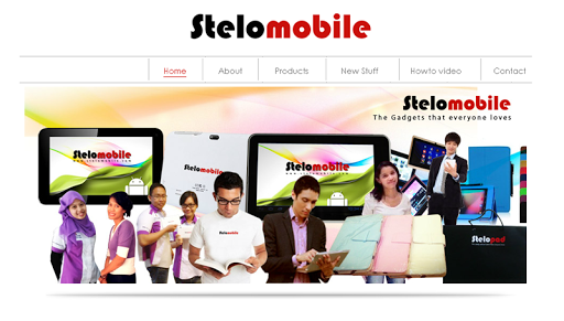Stelomobile Website Launcher
