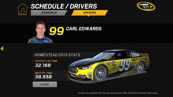 NASCAR RACEVIEW MOBILE Screenshot 37