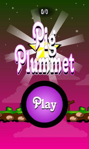 【免費休閒App】Pig Plummet-APP點子