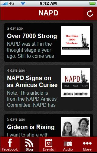 The NAPD App