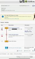 Screenshot of London Journey Planner Live