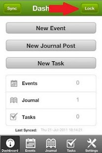 Diary Mobile - screenshot thumbnail