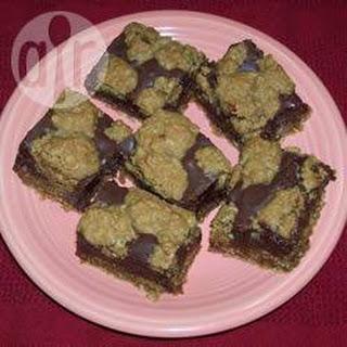 Baked Fudge Squares.