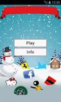 Screenshot of Christmas Logo Trivial Quiz