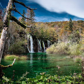 Plitvice by Zarko Piljak - Landscapes Waterscapes ( plitvička jezera, plitvice, national park, jesen, autumn, croatia, lovecroatia, plitvice lakse, beauty of croatia, np plitvička jezera )