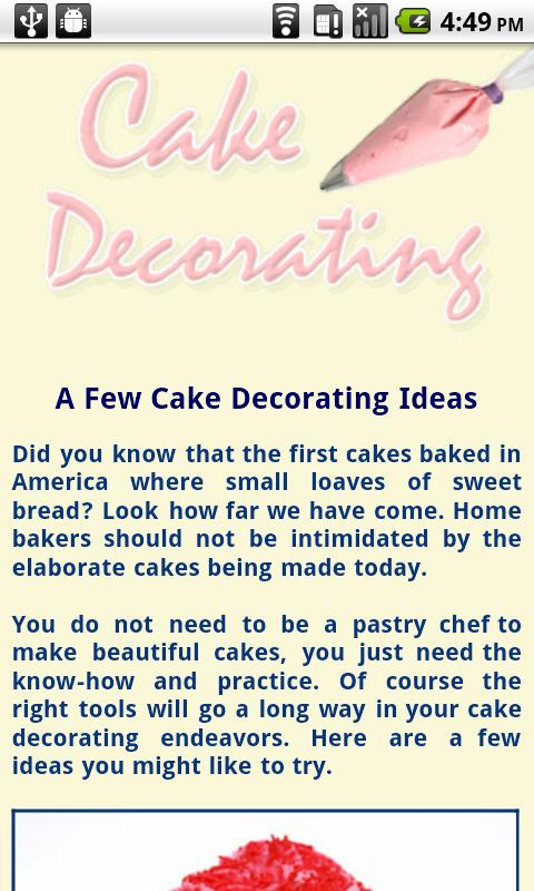 What Cake Decorating Tips Make What : Cake Decorating Tips - Android Apps on Google Play
