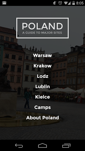 Poland A Guide to Major Cities