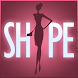 SHAPE Little Black Dress icon