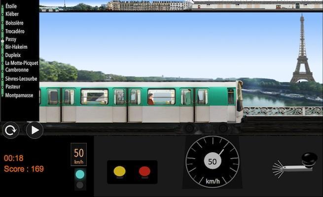 android Paris Métro Simulator Screenshot 0