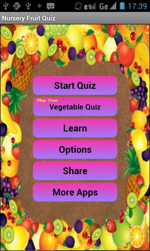Fruit Quiz - screenshot