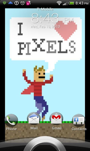 免費下載個人化APP|I love pixels Live Wallpaper app開箱文|APP開箱王