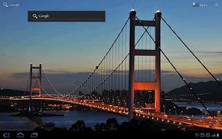 Screenshot of TsingMa Bridge Live Wallpaper