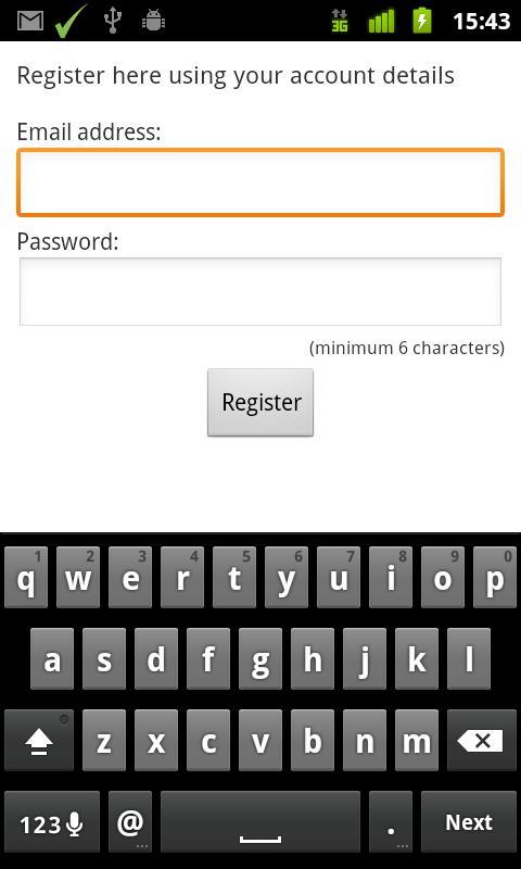 MySurvey Mobile Connect - screenshot
