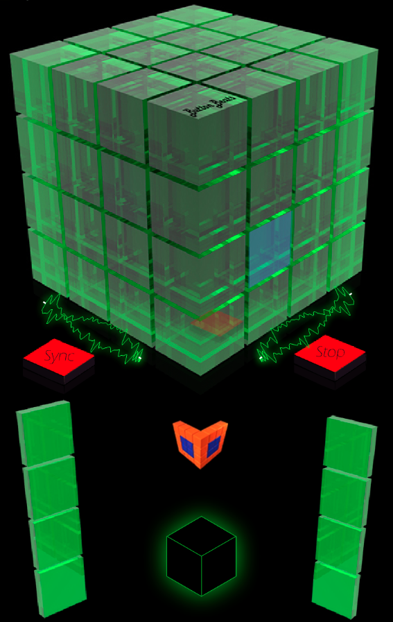 ButtonBass Dubstep Cube- screenshot