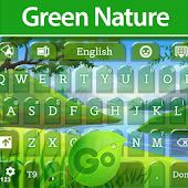GO Keyboard Green Nature
