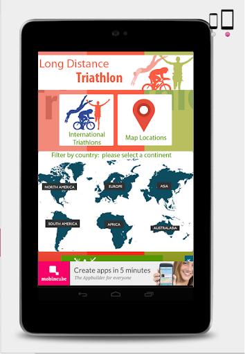 無料运动Appのトライアスロン国際レース|記事Game