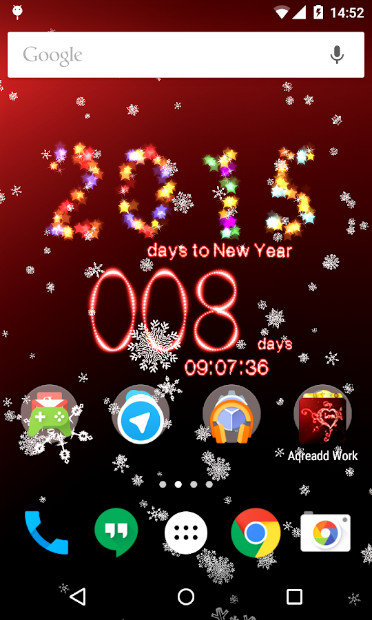 New Years Countdown 2015 - screenshot