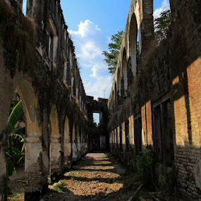 benteng pendem other side  by Axl Digital's - Buildings & Architecture Statues & Monuments