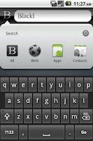 Screenshot of Black Google Search