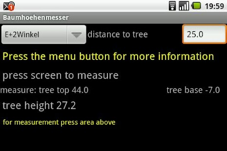 Tree Height Measurement- screenshot thumbnail