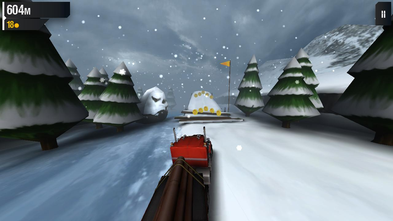 Ice Road Truckers- screenshot