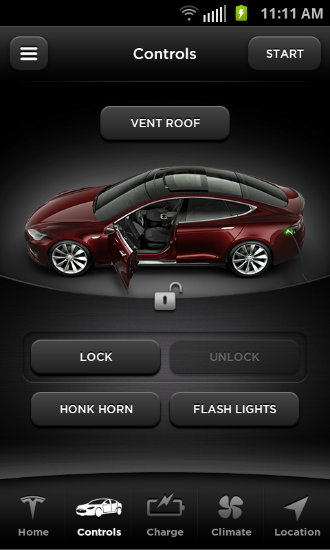 Tesla Motors (Beta)- screenshot