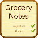 Grocery Notes (with Dictation) icon
