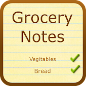Grocery Notes