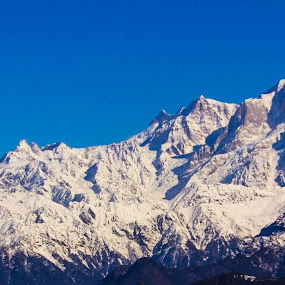 Himalayas from chopta by आशीष बिष्ट - Landscapes Mountains & Hills