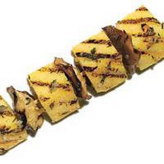 Polenta with Butter-Basted Mushrooms