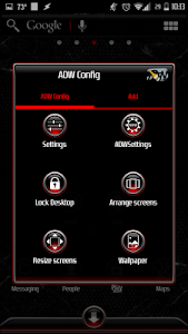 Red Gemz Apex/ADW/Nova Theme v1.0.8