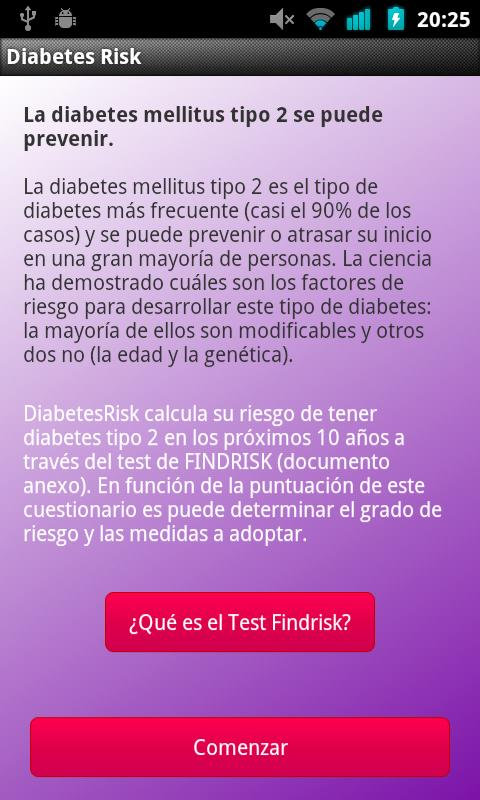 Diabetes Risk- screenshot