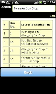 Hyderabad RTC Info - screenshot thumbnail