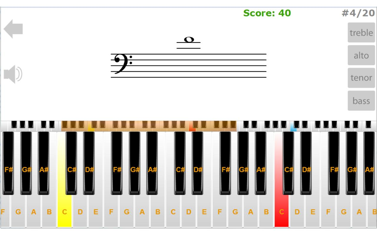 ClefTutor - Music Notes Game - screenshot