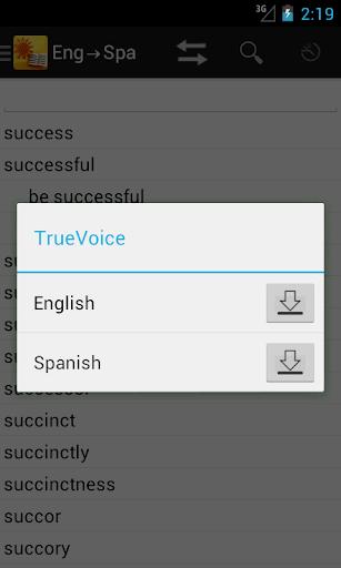 玩免費教育APP 下載English<->Spanish Dictionary app不用錢 硬是要APP