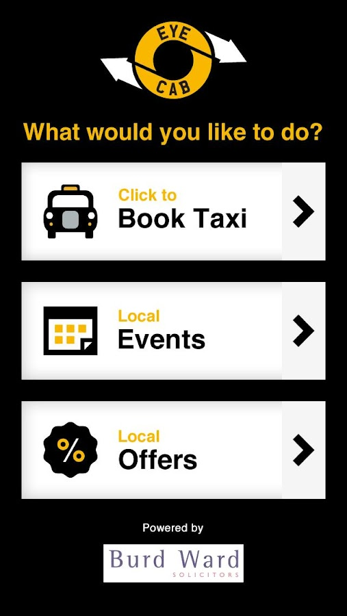 Eye Cab Taxis- screenshot