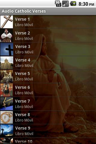 50 Audio Catholic Verses - screenshot