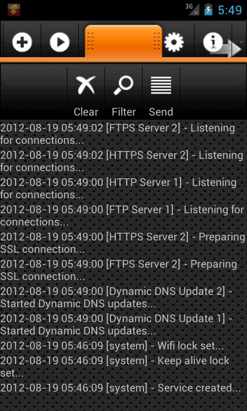 HTTPS / FTPS / SFTP Server- screenshot