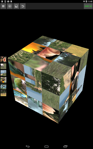 Video Puzzle Cube