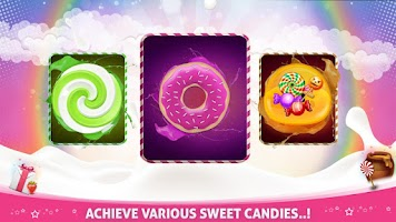 Screenshot of CANDY RUN 3D