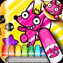 핑크퐁! 색칠놀이 icon