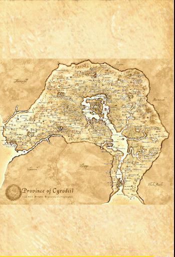 Oblivion Map - UESP