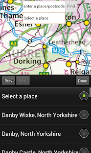 OS Maps UK - screenshot thumbnail