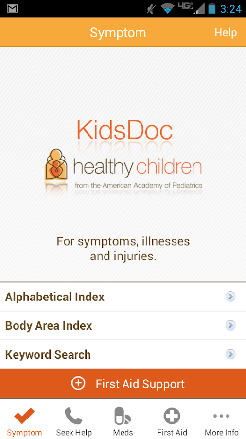KidsDoc - screenshot