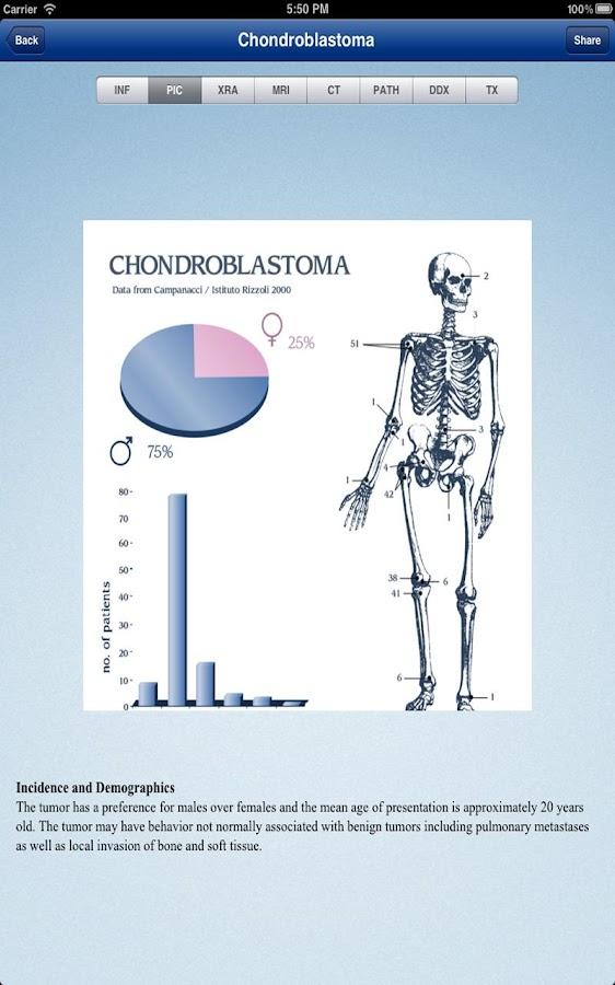 Tumorpedia Español- screenshot