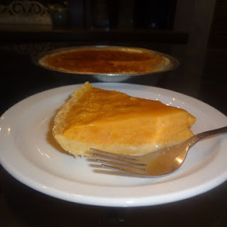 Sweet Potato Pudding Pie