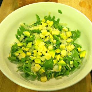 Fennel, Avocado, + Hearts of Palm Salad